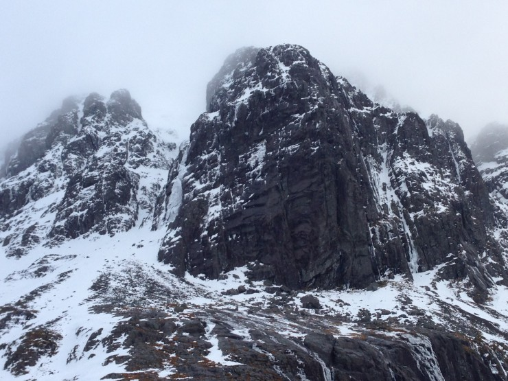 Carn Dearg Buttress and The Curtain