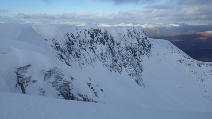 Looking at the North side of Coire an Lochan