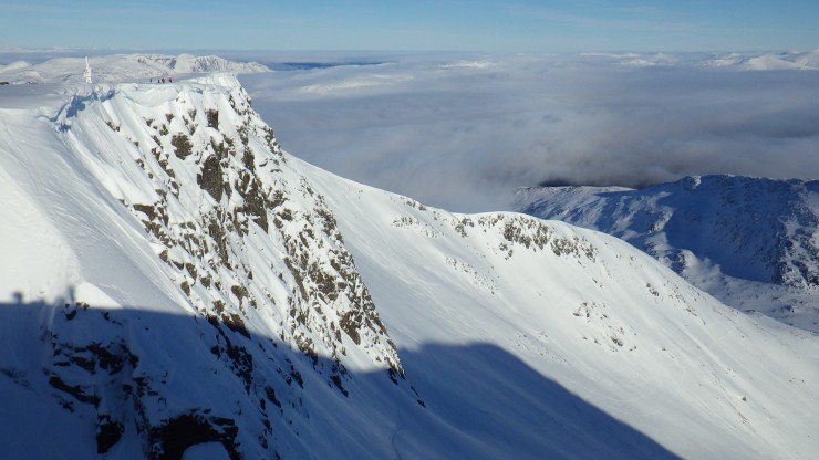 Looking North over Coire Lochain