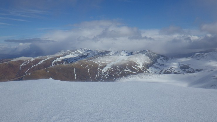 View East from Aonach Mor.