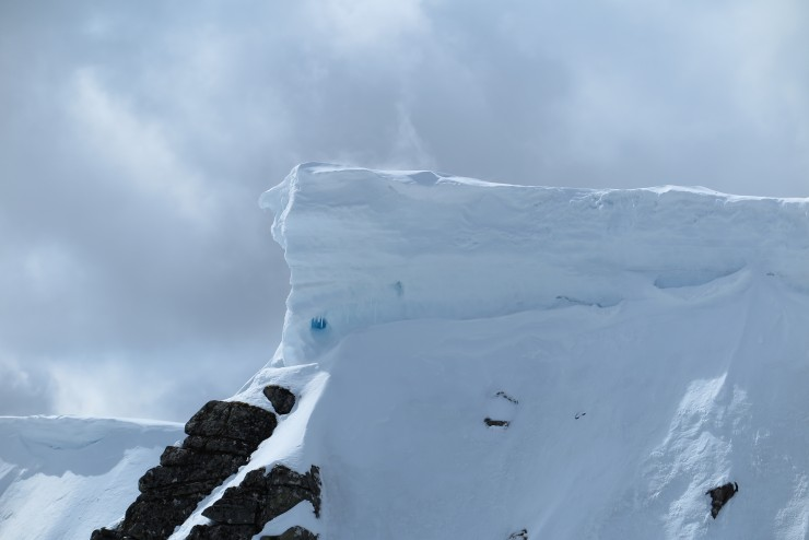 Big cornices remain. his one os over 3m high