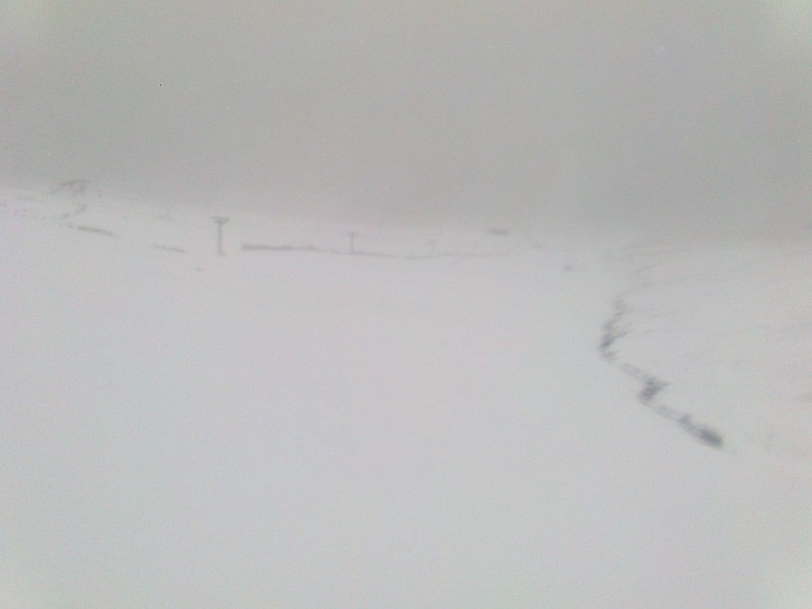 Ski runs looking white but cover not as good as this picture makes it look.