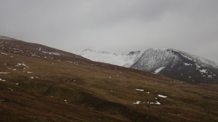 East face of Carn Mor Dearg