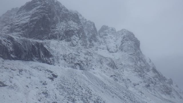 Carn Dearg Buttress and Castle area.