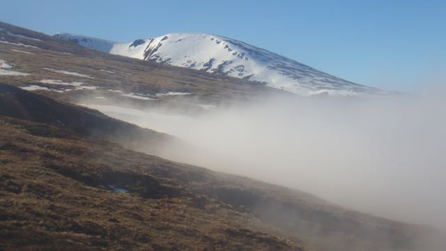 Aonach Mor 600m Visibility approx 50 miles!