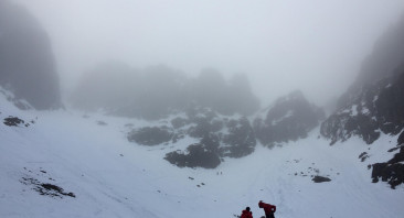 Cloudy on the summits