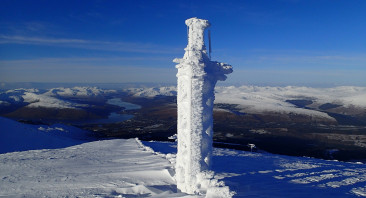 MetOffice weather station on Aonach Mor