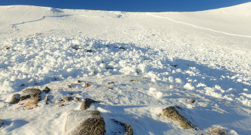 Spikes's Gully Avalanche
